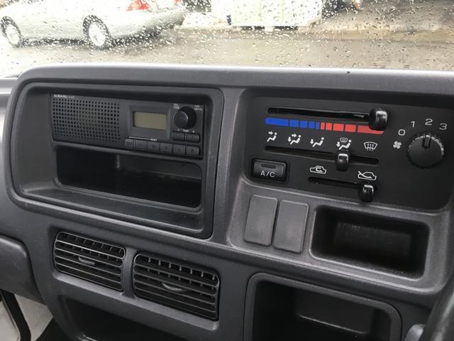 スバル サンバートラック TB 5MT 4WD エアコン パワステ 三方開