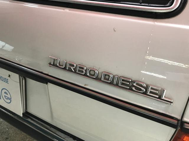 300TDターボ 最終モデル W123(19枚目)