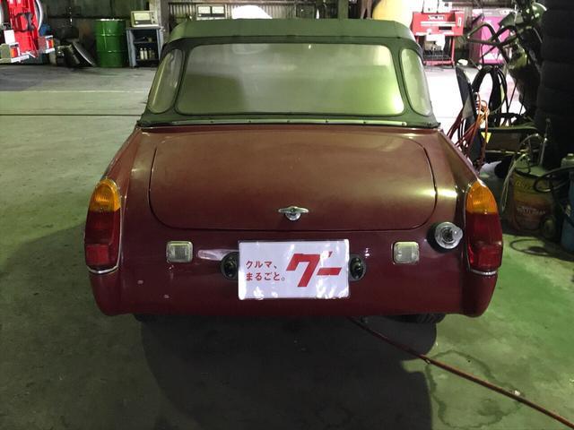 「MG」「ミゼット」「オープンカー」「富山県」の中古車6