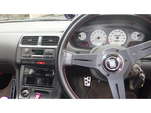 K's TEIN車高調 LSD 前置インタークーラー デフィメーター HKS新品マフラー 5速マニュアル 純正16インチAW Qs改ターボモデル(15枚目)