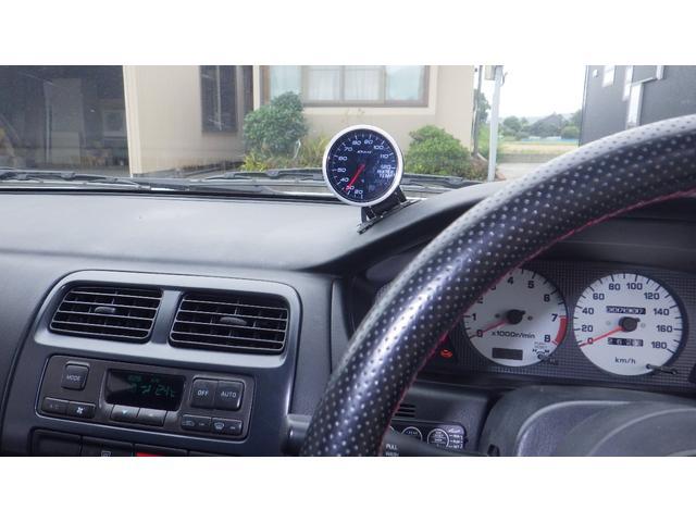 K's TEIN車高調 LSD 前置インタークーラー デフィメーター HKS新品マフラー 5速マニュアル 純正16インチAW Qs改ターボモデル(20枚目)
