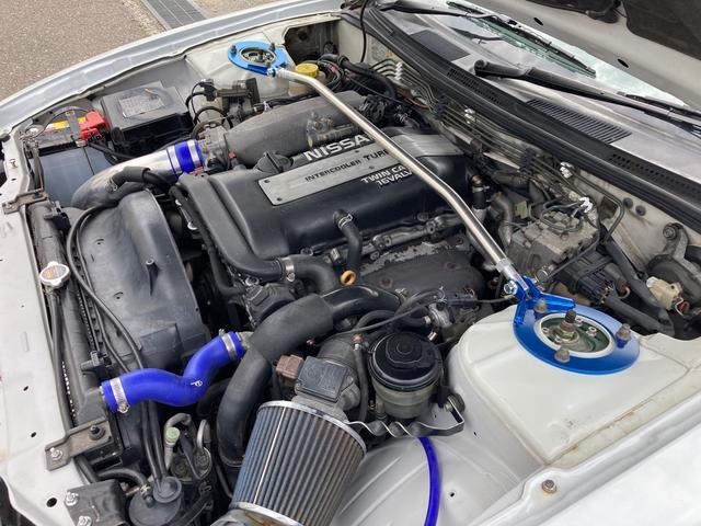 K's TEIN車高調 LSD 前置インタークーラー デフィメーター HKS新品マフラー 5速マニュアル 純正16インチAW Qs改ターボモデル(26枚目)