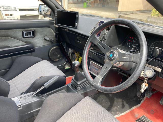 GT APEX 最終後期型 92後期E/G 社外コンピューター ロールバー LSD ブリッツ全調整式車高調 トラストオイルクーラー 社外カム ワタナベ15インチホイール 強化クラッチ 全塗装済 RS-Rマフラー(15枚目)