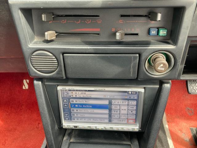 GT APEX 最終後期型 92後期E/G 社外コンピューター ロールバー LSD ブリッツ全調整式車高調 トラストオイルクーラー 社外カム ワタナベ15インチホイール 強化クラッチ 全塗装済 RS-Rマフラー(19枚目)