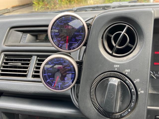 GT APEX 最終後期型 92後期E/G 社外コンピューター ロールバー LSD ブリッツ全調整式車高調 トラストオイルクーラー 社外カム ワタナベ15インチホイール 強化クラッチ 全塗装済 RS-Rマフラー(22枚目)