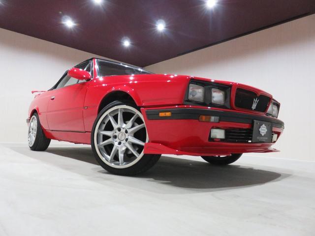 マセラティ マセラティ スパイダーザガート ベースグレード ディーラー車 OZ F.Rスポイラー