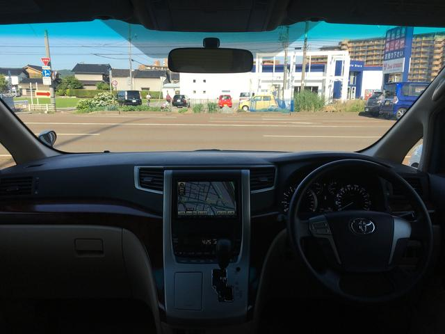 トヨタ アルファード 240X ビッグXナビ フリップダウン 左ドアパワスラ