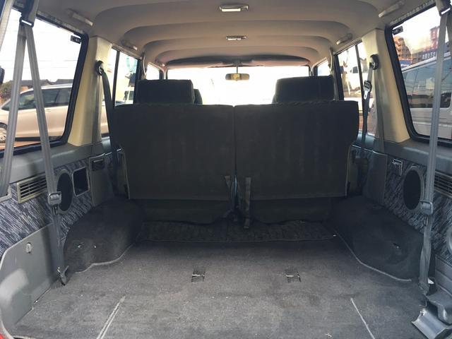 トヨタ ランドクルーザープラド SXワイド Tベルト交換済 ディーゼル ターボ 背面タイヤ