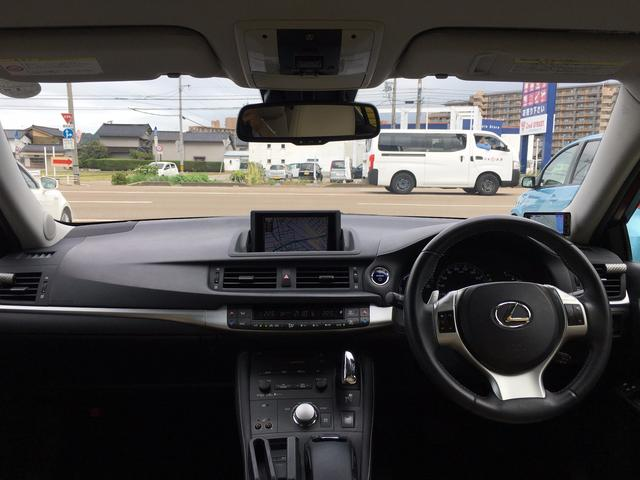 レクサス CT CT200h バージョンL LEDライト 本革シート 保証付