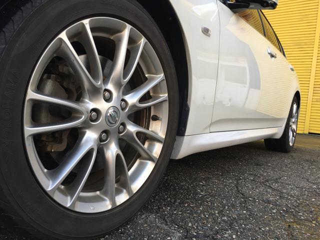 日産 スカイライン 350GT タイプSP 新品タイヤ 本革シート パワーシート
