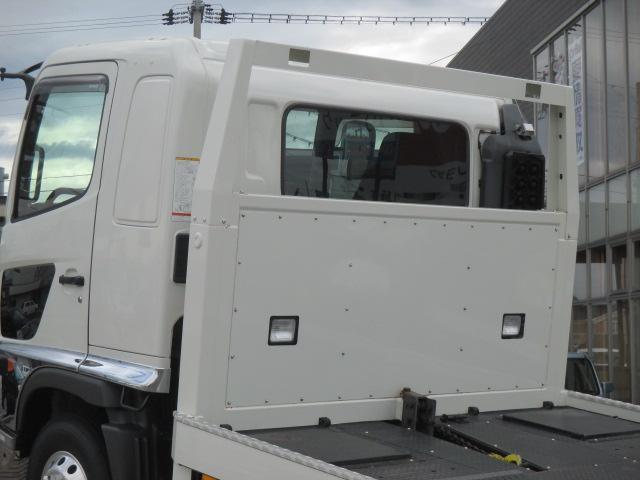日野 ヒノレンジャー 積載車 日新工業フルオートX ラジコン ウインチ 自動あゆみ