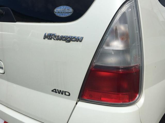 スズキ MRワゴン E 4WD