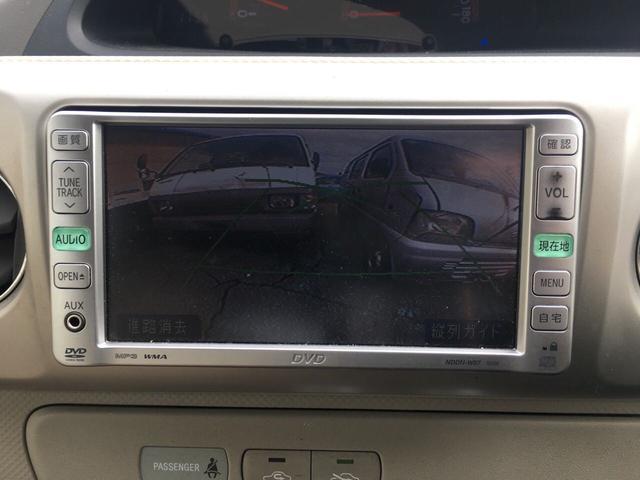 トヨタ ポルテ 130i Cパッケージ DVDナビ