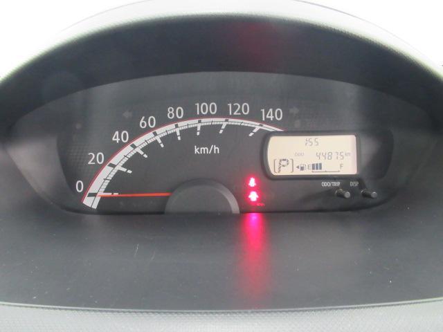 シンプルなスピードメーター