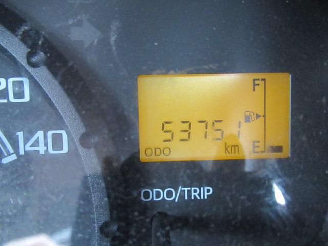 走行距離やガソリンの量はディスプレイで表示