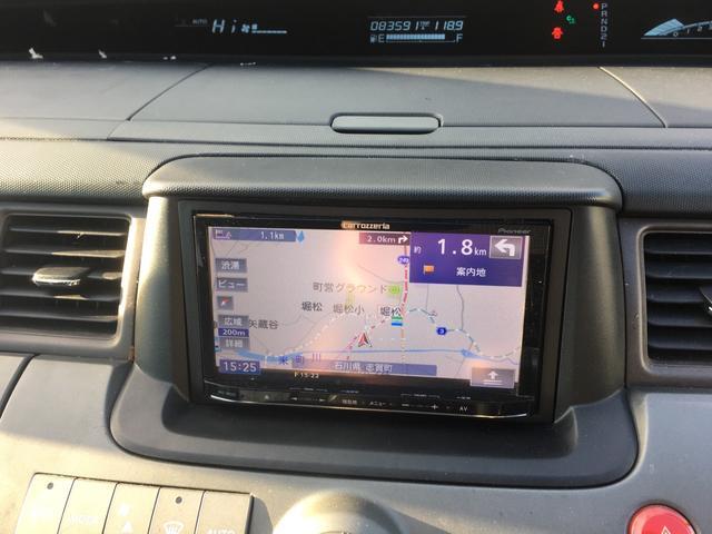 ホンダ ステップワゴン G Lパッケージ 社外SDナビTV CD ETC付