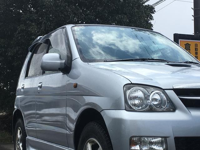 ダイハツ テリオスキッド カスタム メモリアルエディション 4WD 純正ナビTV