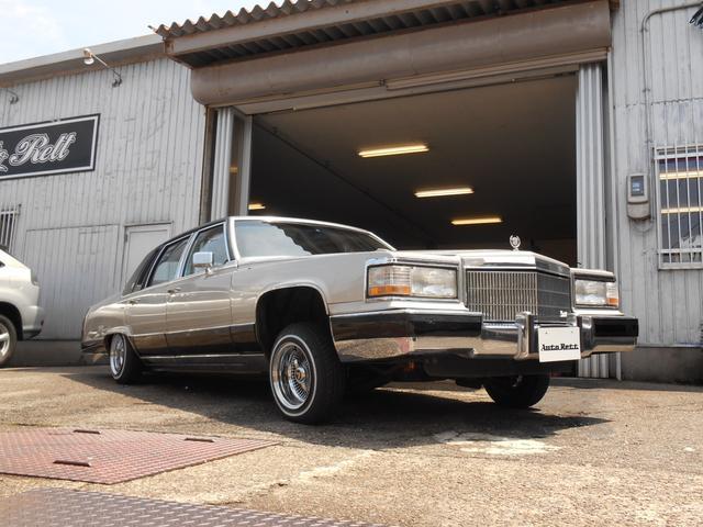 キャデラック キャデラック フリートウッド ブロアム AC 2P4B 8ナンバー