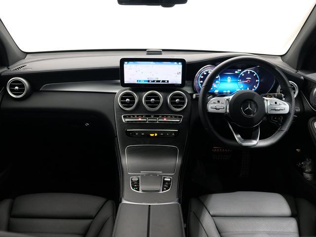 GLC220d 4マチック AMGライン パノラミックスライディングルーフ エクスクルーシブPKG 純正20インチAW ワンオーナー車(5枚目)