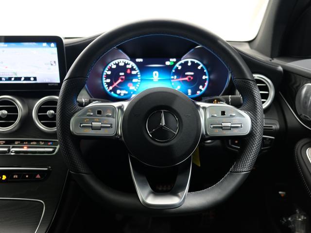 GLC220d 4マチック AMGライン パノラミックスライディングルーフ エクスクルーシブPKG 純正20インチAW ワンオーナー車(6枚目)