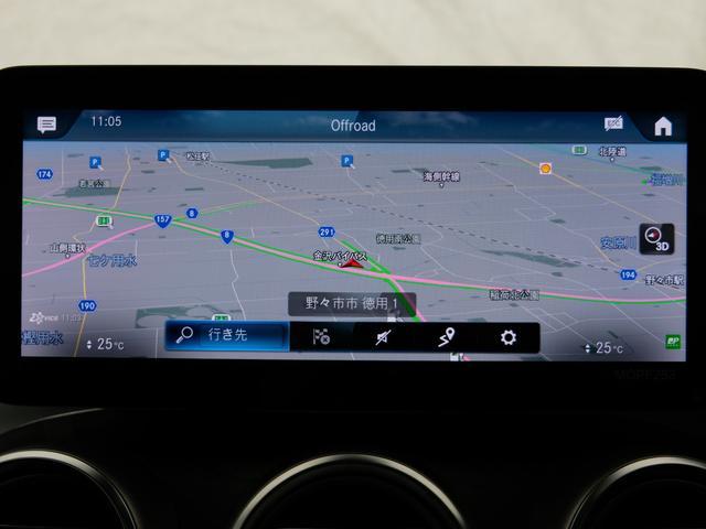 GLC220d 4マチック AMGライン パノラミックスライディングルーフ エクスクルーシブPKG 純正20インチAW ワンオーナー車(12枚目)