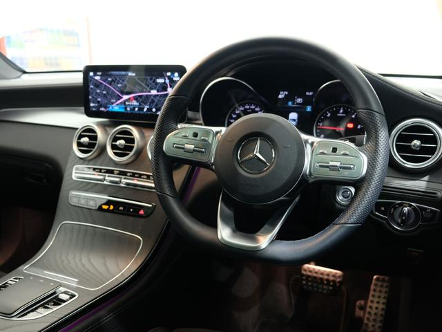 GLC220d 4マチック AMGライン パノラミックスライディングルーフ ワンオーナー車 車検・新車保証2023年4月まで(6枚目)