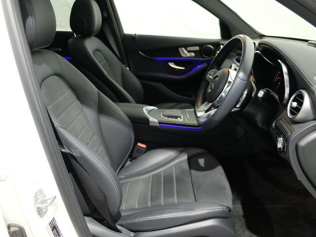 GLC220d 4マチック AMGライン パノラミックスライディングルーフ ワンオーナー車 車検・新車保証2023年4月まで(7枚目)