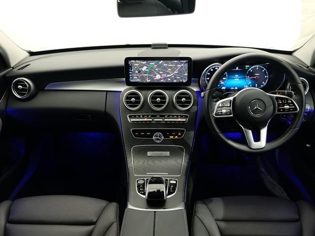 C220d ローレウスエディション レーダーセーフティPKG レザーエクスクルーシブPKG ワンオーナー車 2023年8月まで(5枚目)