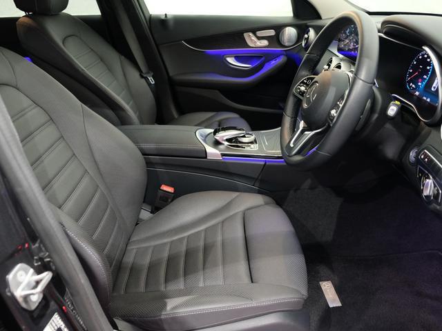 C220d ローレウスエディション レーダーセーフティPKG レザーエクスクルーシブPKG ワンオーナー車 2023年8月まで(6枚目)