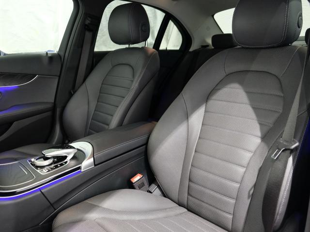 C220d ローレウスエディション レーダーセーフティPKG レザーエクスクルーシブPKG ワンオーナー車 2023年8月まで(7枚目)