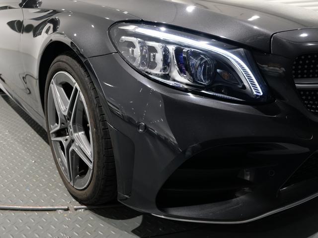 C220d ローレウスエディション レーダーセーフティPKG レザーエクスクルーシブPKG ワンオーナー車 2023年8月まで(17枚目)