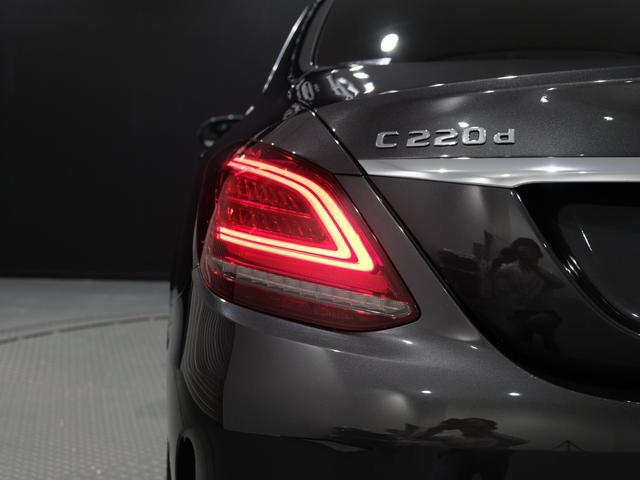 C220d ローレウスエディション レーダーセーフティPKG レザーエクスクルーシブPKG ワンオーナー車 2023年8月まで(18枚目)