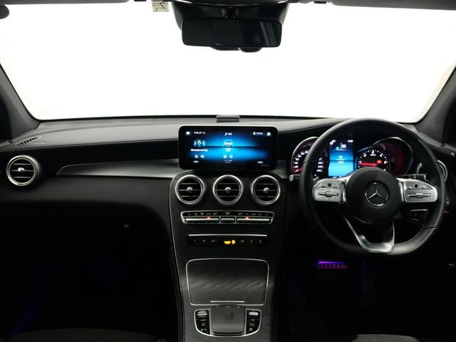GLC220d 4マチック AMGライン パノラミックスライディングルーフ ワンオーナー車 新車保証2023年7月まで(6枚目)
