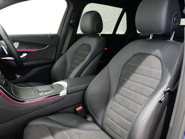 GLC220d 4マチック AMGライン パノラミックスライディングルーフ ワンオーナー車 新車保証2023年7月まで(8枚目)