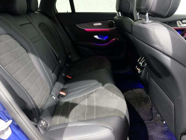 GLC220d 4マチック AMGライン パノラミックスライディングルーフ ワンオーナー車 新車保証2023年7月まで(9枚目)