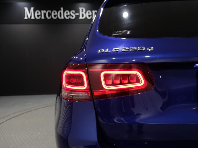 GLC220d 4マチック AMGライン パノラミックスライディングルーフ ワンオーナー車 新車保証2023年7月まで(18枚目)