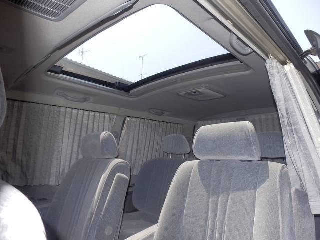 トヨタ グランビア Q Dターボ ツインSR Pシート 左パワースライド