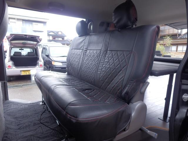 トヨタ ハイエースバン ロングスーパーGL4WD DTB 外16SW ベットキット付