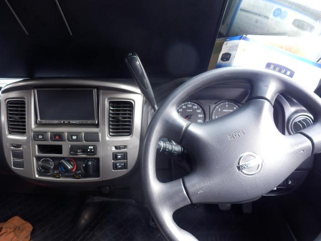 日産 キャラバン ロングDXターボV-LTDワンオーナー切替4WD低床 外AW