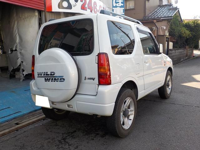 ワイルドウインド 4WD ルーフレール(3枚目)