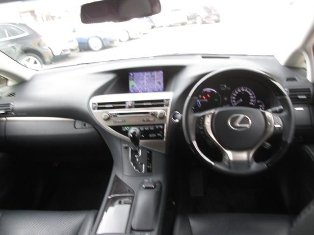 RX450hバージョンL 4WD 黒革 ナビTV 1オーナ(11枚目)