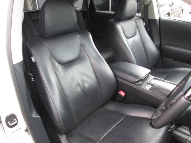 RX450hバージョンL 4WD 黒革 ナビTV 1オーナ(12枚目)