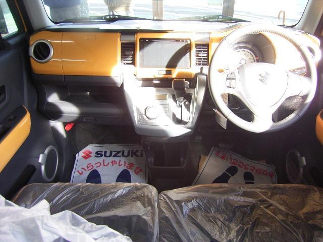 スズキ ハスラー X 届出済未使用車 純正メモリーナビ デュアルカメラブレーキ