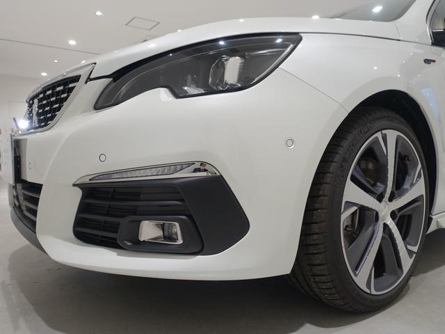 GT ブルーHDi 登録済未使用車 アップルカーアンドロイド パークアシスト アルカンタラシート スペアタイヤ(10枚目)