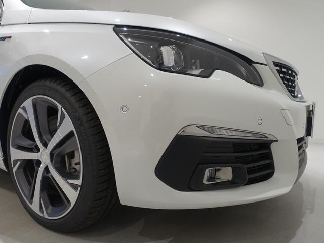 GT ブルーHDi 登録済未使用車 アップルカーアンドロイド パークアシスト アルカンタラシート スペアタイヤ(11枚目)