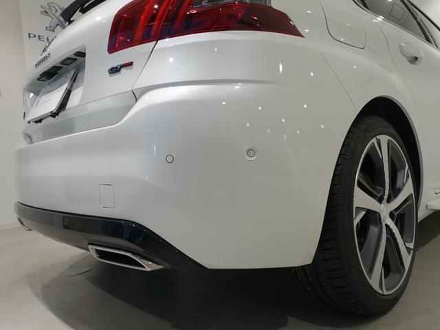 GT ブルーHDi 登録済未使用車 アップルカーアンドロイド パークアシスト アルカンタラシート スペアタイヤ(14枚目)