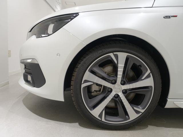 GT ブルーHDi 登録済未使用車 アップルカーアンドロイド パークアシスト アルカンタラシート スペアタイヤ(20枚目)