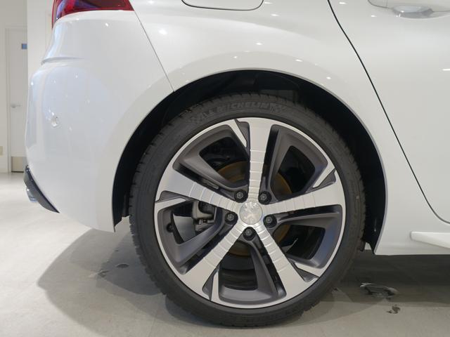 GT ブルーHDi 登録済未使用車 アップルカーアンドロイド パークアシスト アルカンタラシート スペアタイヤ(22枚目)