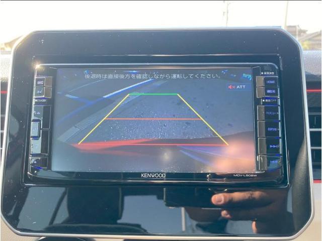 4WDハイブリッドMX 社外 7インチ メモリーナビ/ヘッドランプ LED/ETC/EBD付ABS/横滑り防止装置/アイドリングストップ/TV/エアバッグ 運転席/エアバッグ 助手席/アルミホイール/パワーウインドウ 4WD(10枚目)