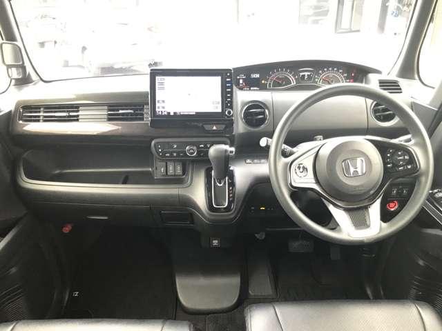 カスタム 660 G EX ホンダセンシング 4WD NAVI 両側電動スライドドア 衝突被害軽減ブレーキ ETC 4WD DVD バックモニター LED W電動ドア ナビ・TV メモリーナビ(3枚目)
